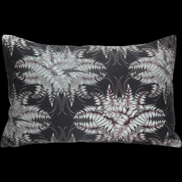 Fen forest Boudoir Cushion - Noir