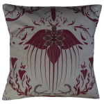 Damask Of Satan Cushion ~ in REDRUM