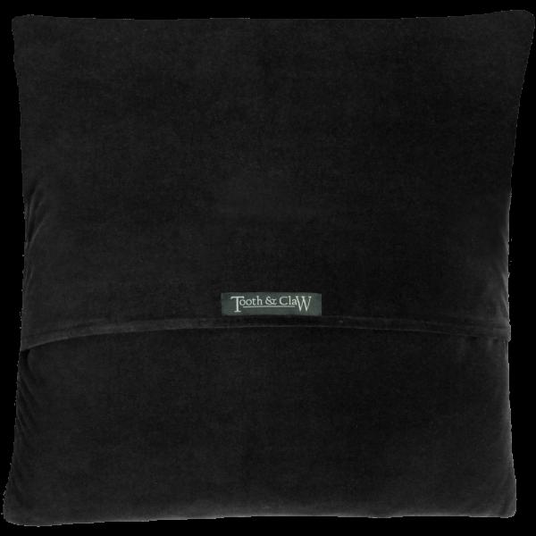 Reverse Of Cushion - Black velvet