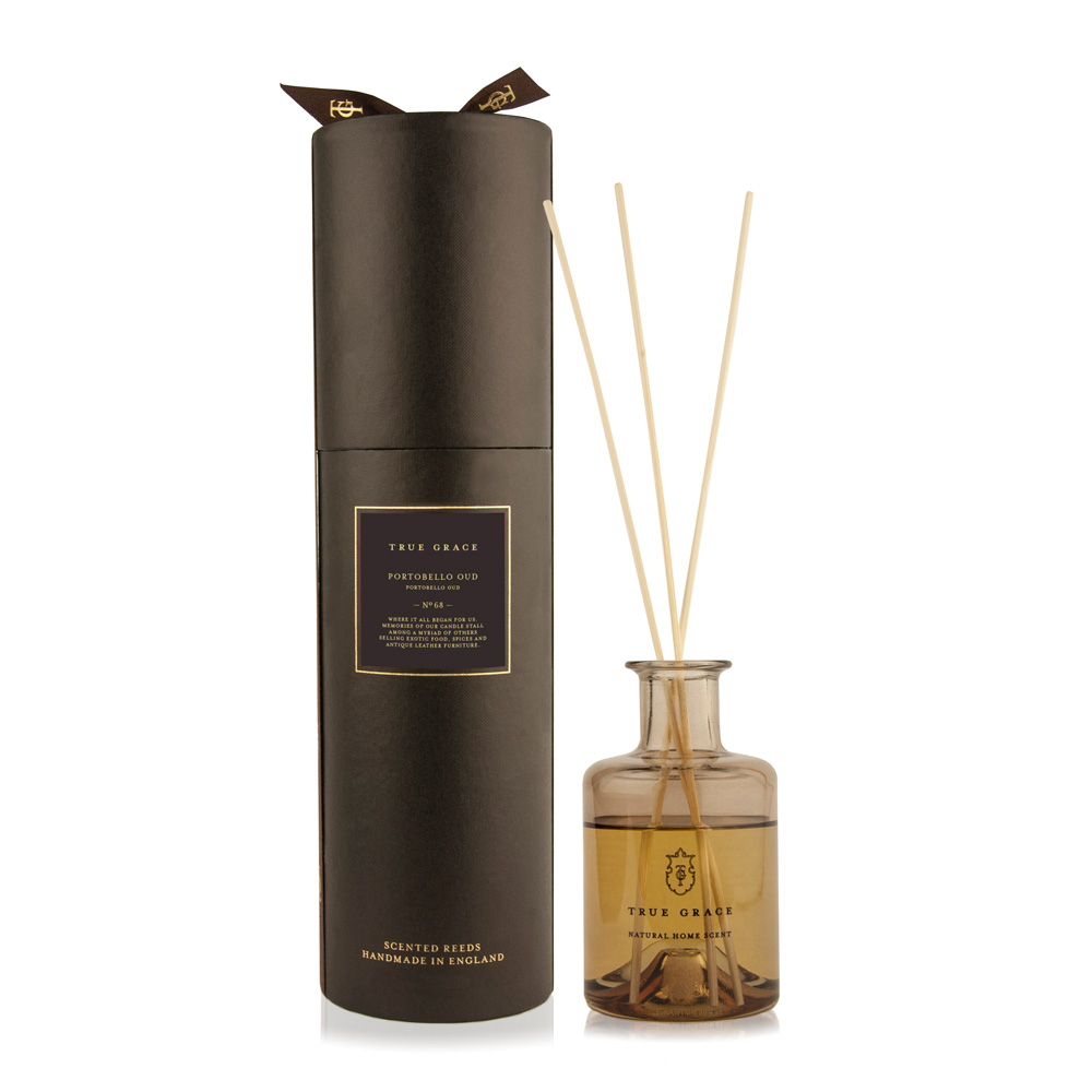True Grace Portobello Oud diffuser