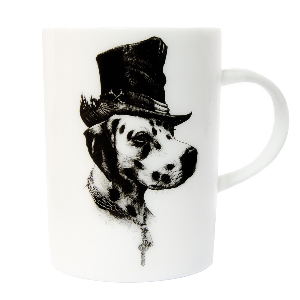 Rory Dobner Brooklyn dog mug
