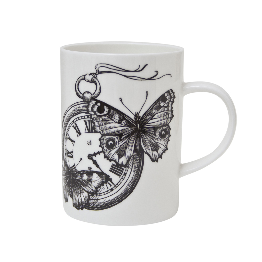 Rory Dobner Time Flies mug