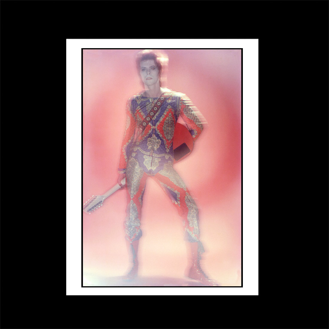 David Bowie Starman outfit print version 2